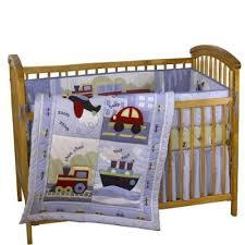 deluxe baby boy cot bedding set car