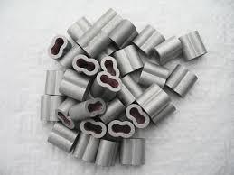 3 4mm Aluminium Crimping Loop Sleeve Securefix Direct