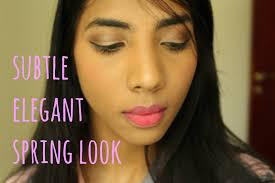 elegant spring look l makeup tuitorial
