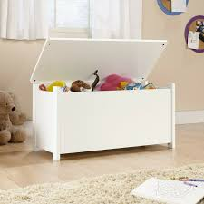 Toy Storage Box Chest Bin Organizer Kids Bedroom Furniture Playroom Large White For Sale Online Ebay