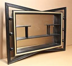 shadow box mirror wall shelf