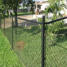 China Hot Dipped Galvanized Diamond Mesh Security Chain Link Fence China Wire Fence Panel