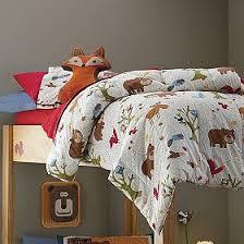 Woodland Reversible Comforter Woodland Room Modern Kids Beds Big Boy Bedrooms