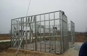 light gauge steel wall frame cold