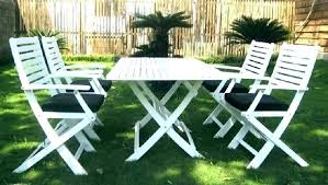 wooden garden furniture paint