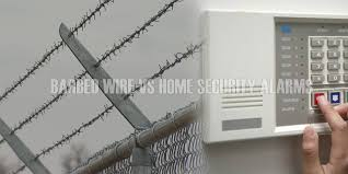 Barbed Wire Fences Vs Home Security Alarms Sai Wire
