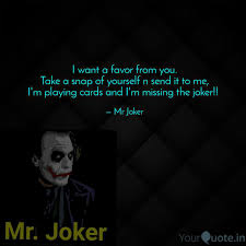 mr joker quotes yourquote