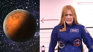 ABIGAIL HARRISON SAYS SHE WILL GO TO MARS - FIRST HUMAN ON MARS - YouTube
