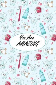 tooth notebook dentist gift dental