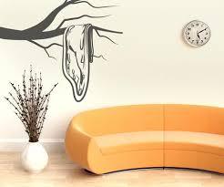Salvador Dali Style Sad Clock Vinyl Wall Decal Sticker Os Mb329 Stickerbrand