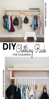Diy Clothing Rack With Shelf Diy Clothes Rack Wall Mounted Clothing Rack Childrens Wardrobes
