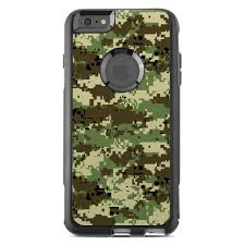 Digital Woodland Camo Otterbox Commuter Iphone 6s Plus Case Skin Istyles