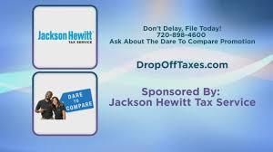 Jackson Hewitt and your taxes