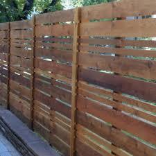 Horizontal Cedar Fence Ideas Houzz