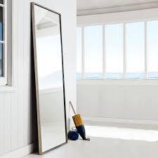 brush nickel stainless steel framed