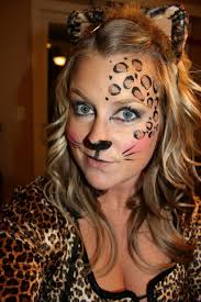 easy cheetah face makeup saubhaya makeup