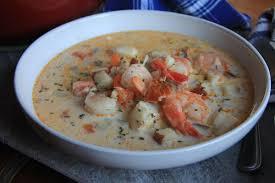 seafood chowder ...