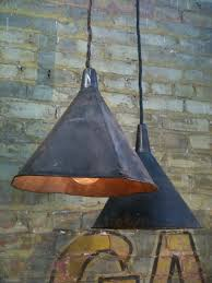 antique funnels farmhouse lighting id