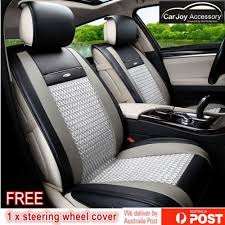 soft leather car seat cover mazda
