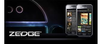 wallpaper and notifications with zedge