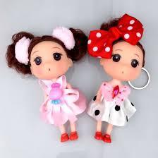 12cm small cute baby doll bag pendant
