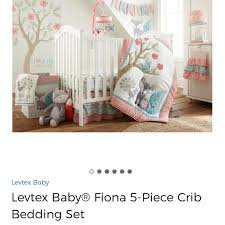 Levtex Other Euc Baby Fiona 5piece Crib Bedding Set Poshmark