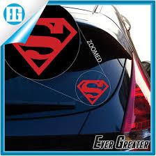 China Transformer Superman Large Vinyl Auto Window Adhesive Sticker China Sticker Adhesive Sticker