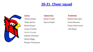 """CHS Cheer on Twitter: """"Announcing 20-21 Cheer Team! Congrats to all!… """""""