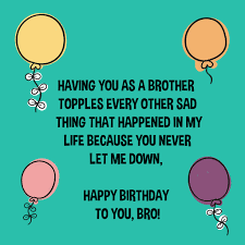 the happy birthday brother wishes from the heart top happy