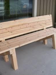 garden bench plans outdoor wooden