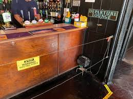 Pub Installs Electric Fence At The Bar To Ensure People Keep Social Distancing Mirror Online