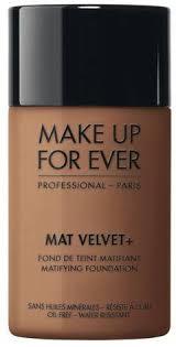 mat velvet matifying foundation