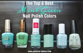 best mint green nail polish colors