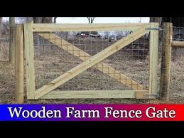 Building A Large Wooden Gate For The Barnyard Youtube