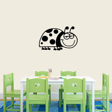 Sweetumswalldecals Lady Bug Cartoon Wall Decal Wayfair