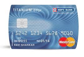 pros cons hdfc anium edge credit