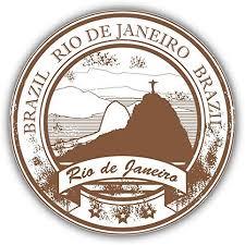 Amazon Com Jjh Inc Rio De Janeiro Brazil Grunge Rubber Travel Vinyl Decal Sticker Waterproof Car Decal Bumper Sticker 5 Kitchen Dining