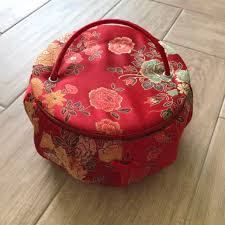 chinese wedding makeup box design