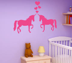 Style And Apply Unicorns In Love Wall Decal Wayfair
