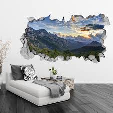 Mountain Vinyl Wall Decal Australia Large Scene Design Removable Aliexpress Color Vamosrayos