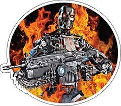 Terminator Dark Fate Action Movie Vinyl Sticker Vinyl Decal Etsy