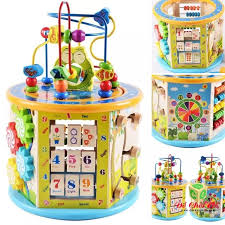 Đồ chơi trẻ em thông minh - Hộp trí tuệ 8 chức năng, Đồ chơi cho bé 1 tuổi  mới nhất