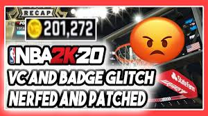 NBA 2K20 UNLIMITED VC GLITCH + BADGE ...