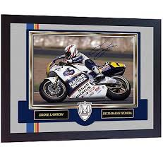 Eddie Lawson photo print autograph signed Framed | eBay