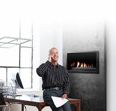 direct vent gas fireplace linear