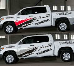 Graphics Car Sticker Pickup Truck Decal Fit For Toyota Tundra Side Door Stripes Ebay