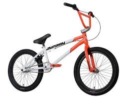 Sunday 2013 Aaron Ross Ex BMX Bike-Fluorescent Red/White at J&R Bicycles —  J&R Bicycles, Inc.