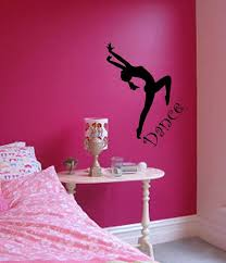 Dance Bedroom Stickers Wall Art Wall Decor Sticker By Stickease 26 99 Dance Bedroom Teenage Girl Bedroom Diy Girls Bedroom Themes