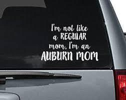 Auburn Car Decal Etsy