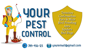 Pest Control Business Card Template | PosterMyWall
